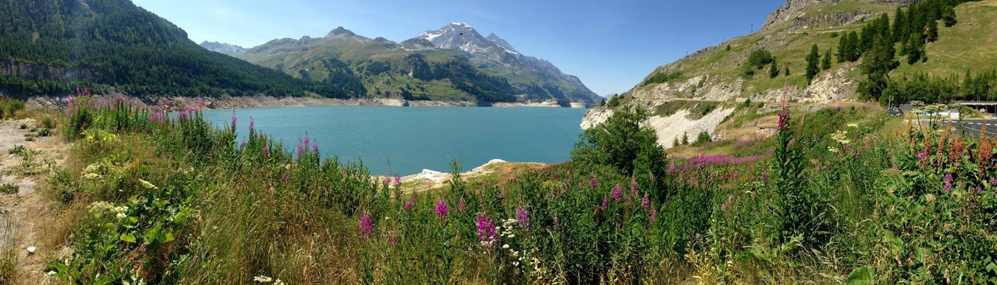 Biking In Tignes Alps