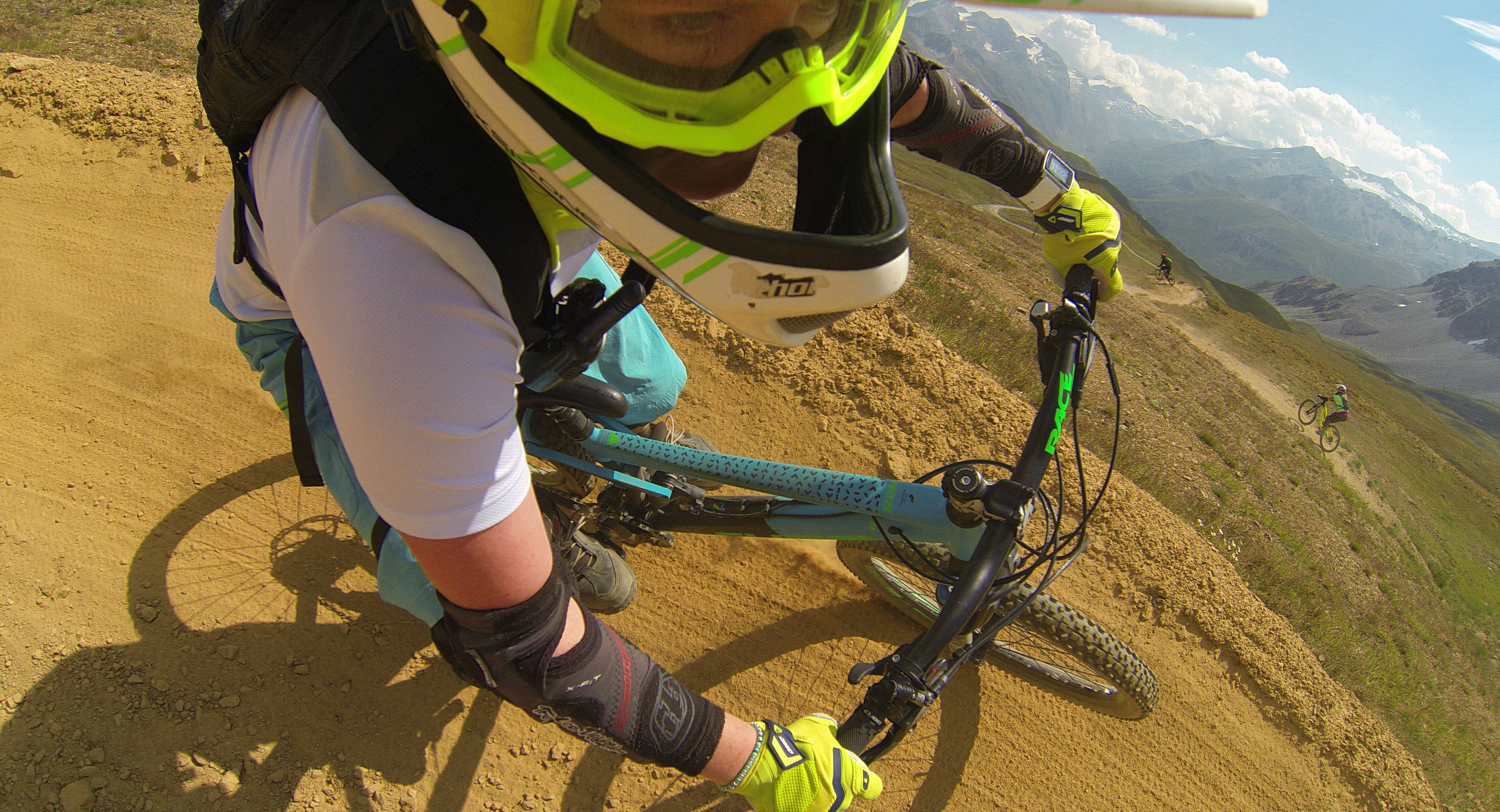Biking In Tignes Alps Mountain biking