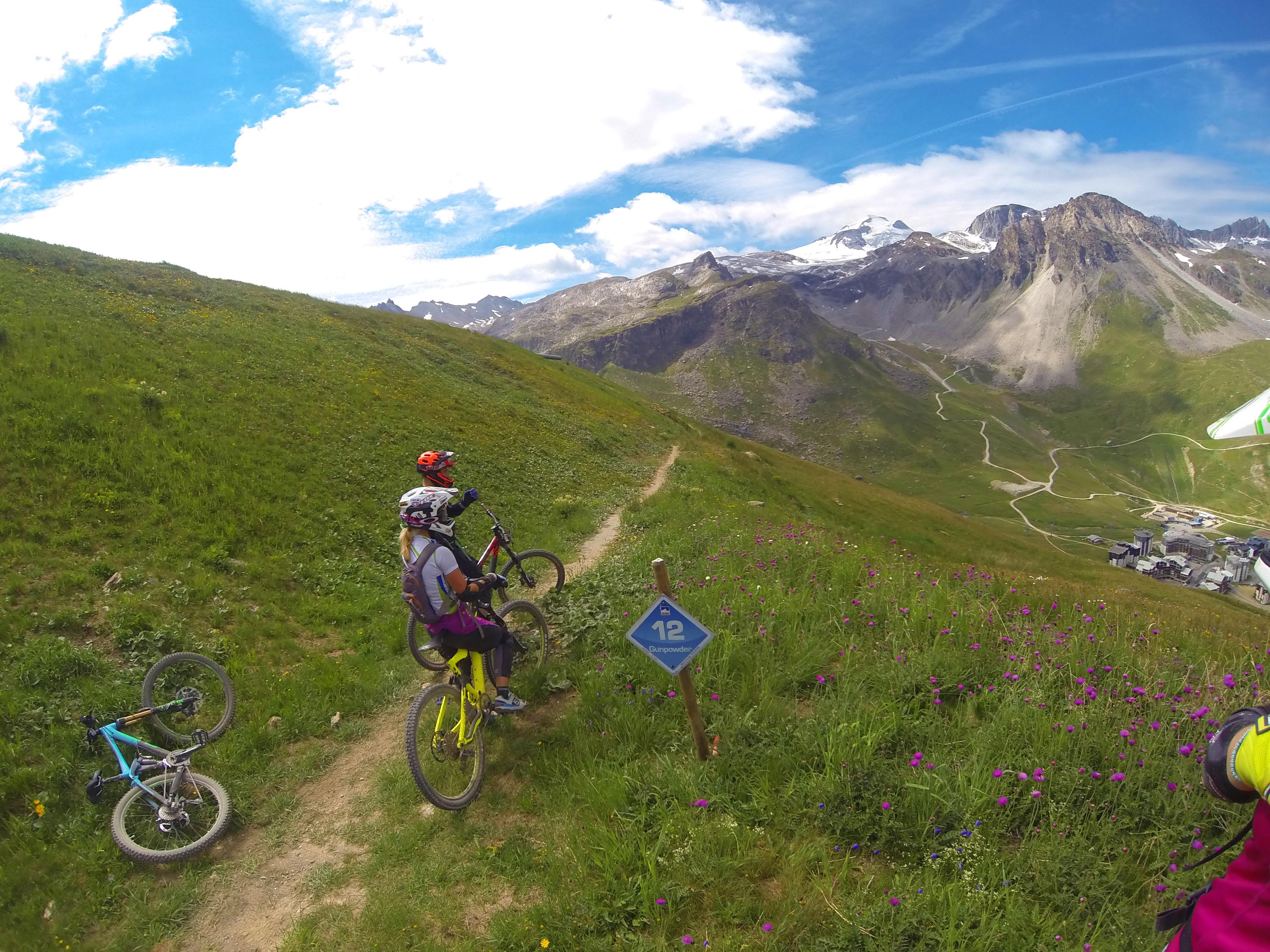 Biking In Tignes Alps Mountain