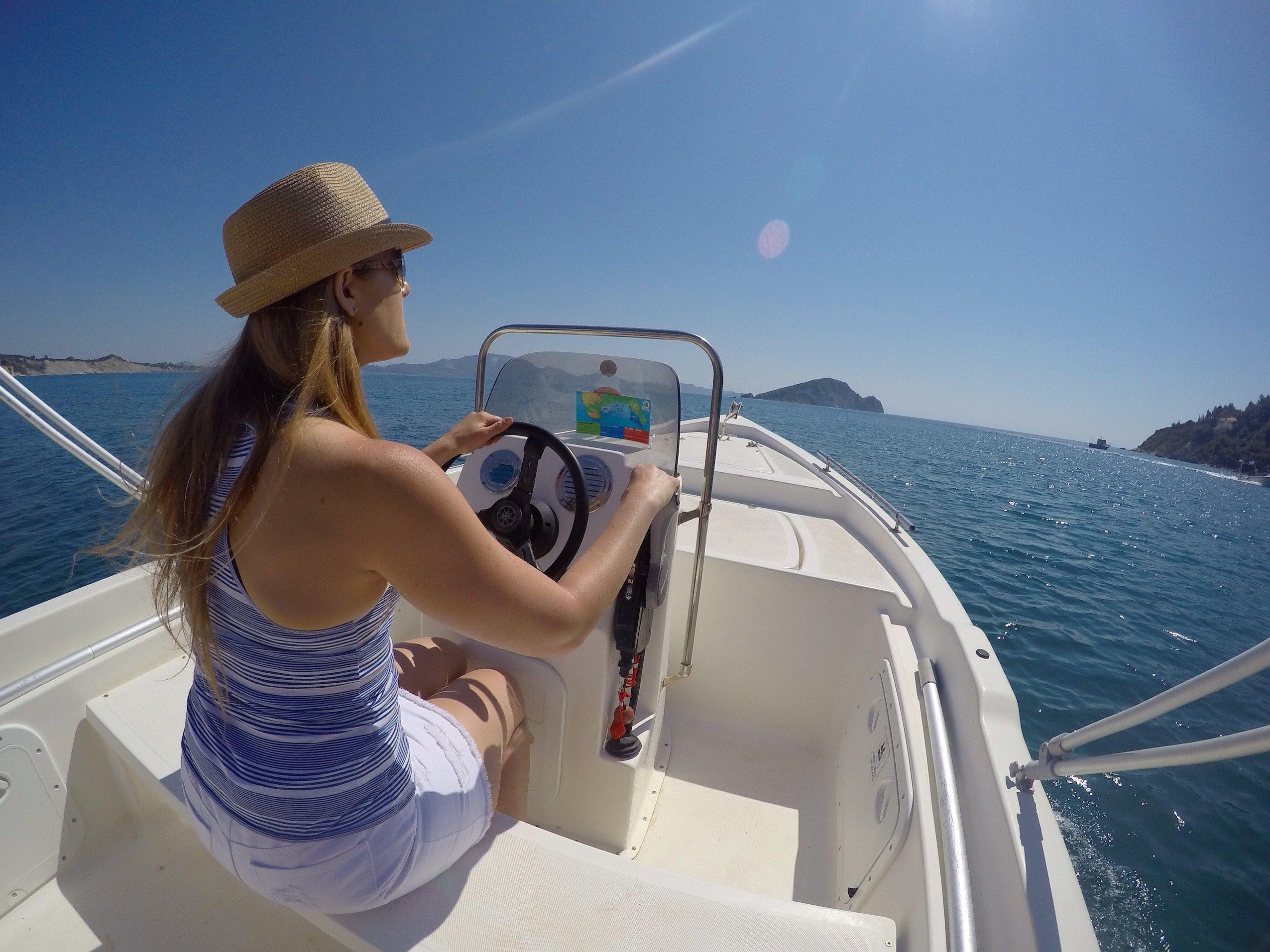 Captains Boat rental.